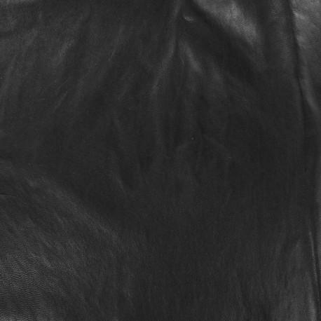Lambskin Genuine Leather - Black Onesa