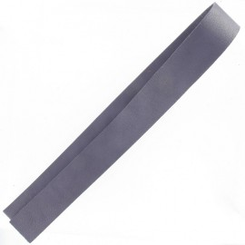 Leather strip bag-handles, Prown - purple