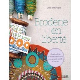 """Livre """"Broderie en liberté"""""""