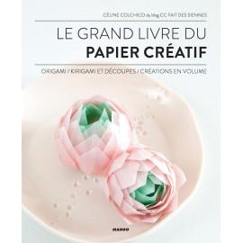 """Book """"Le grand livre du papier créatif"""""""