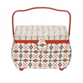 Boite à Couture Prym Taille M - Retro Rouge