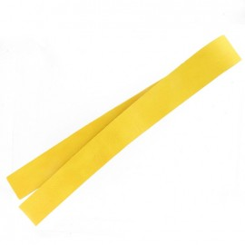 Leather strip bag-handles, Mostaza - mustard yellow
