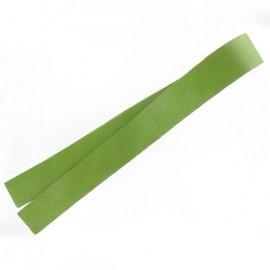 Leather strip bag-handles, Moss - moss green