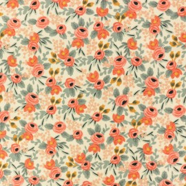 Cotton + Steel cotton fabric x Rifle Paper Co - pink Petites fleurs x 10cm