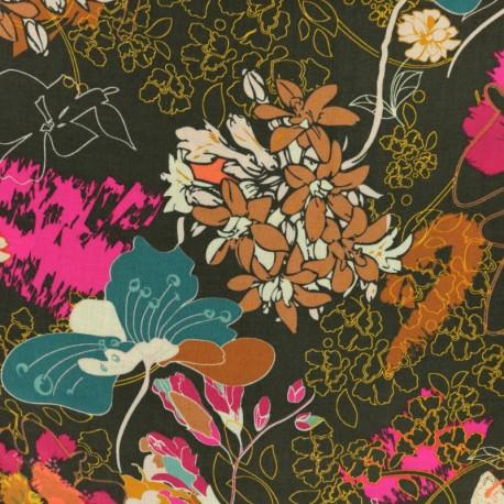 AGF fabric Legendary - brown Wonderlust Dream x 10 cm