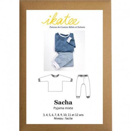 Patron Ikatee Sacha Pyjama Mixte - 3 à 12 ans