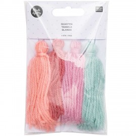 Pack of 4 Tassels - Pastel