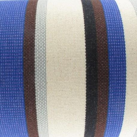 Deckchair Canvas Fabric - Claire Roy/Ecru (43cm) x 10cm