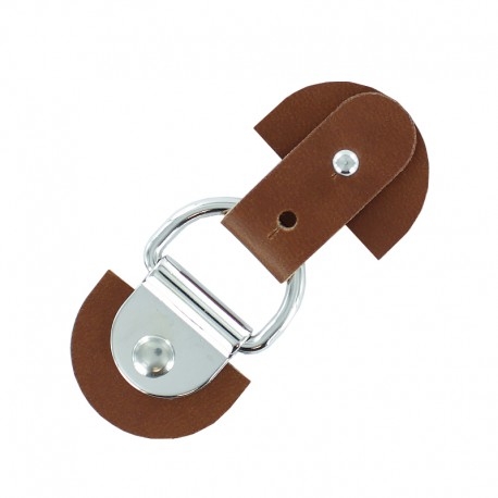 Adjustable Toggle Duffle Coat Closure - Caramel Sid