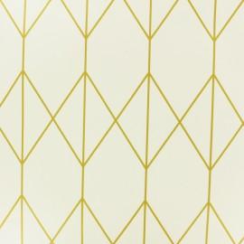 Tissu toile cirée Ally - doré x 10cm