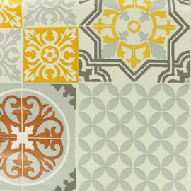 Oilcloth fabric - Grey Sintra x 10cm