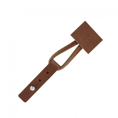 Adjustable Toggle Duffle Coat Closure - Caramel Cory