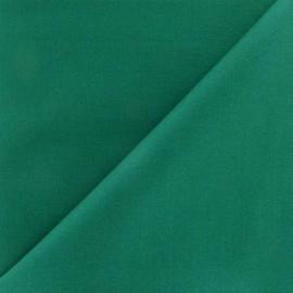 Tissu Coton uni vert pin
