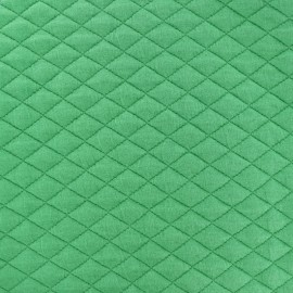 Quilted fabric single-sided Diamond - spring green x 10cm