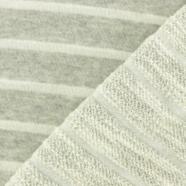 Tissu coton sweat léger Malo - écru x 10cm