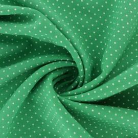 Tissu Viscose mini pois - rose x 10cm