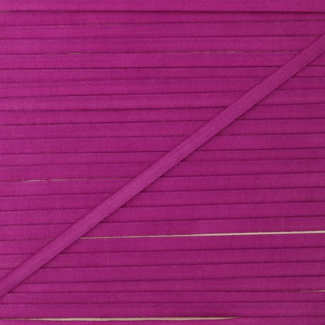 Ruban de soie lilas 4 mm