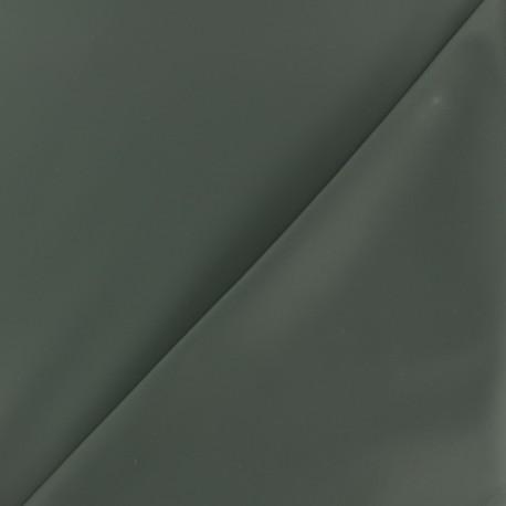 Matte Special rain waterproof fabric - khaki green x 10cm