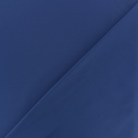 Dark plain Lycra fabric - royal blue x 10cm