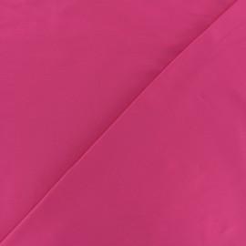 Tissu Lycra uni Dark - rose fuchsia x 10cm
