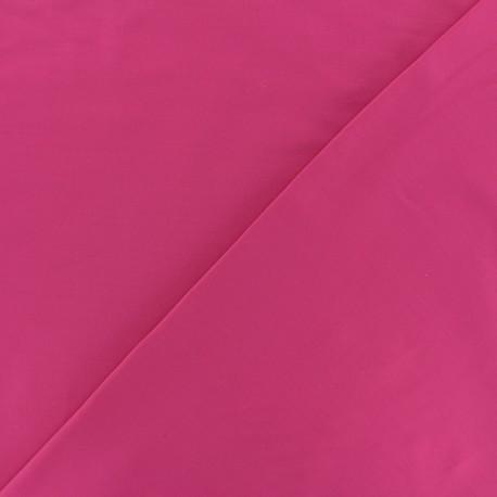 Dark plain Lycra fabric - fuchsia pink x 10cm