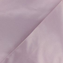 Smoking Satiny Gabardine Fabric - old pink x 10cm