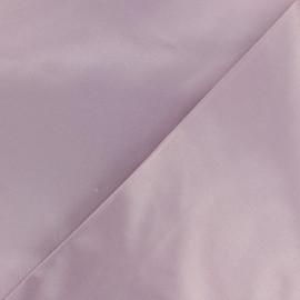 Tissu Gabardine satiné smoking - vieux rose x 10cm