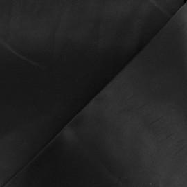 Tissu Gabardine satiné smoking - noir x 10cm