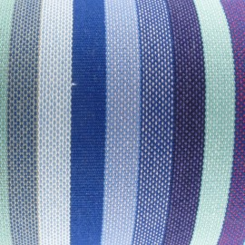 Tissu toile transat Petite Dani Bleu (43cm) x 10cm