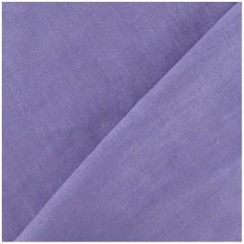 Tissu lin lavande  x 10cm