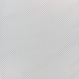 Tissu Mesh spécial sport - gris x 10cm
