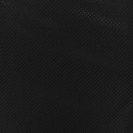 Tissu Mesh spécial sport - noir x 10cm
