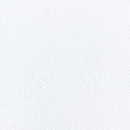 Sport Mesh fabric - white x 10cm