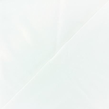 Tissu Lycra douceur sport - blanc x 10cm
