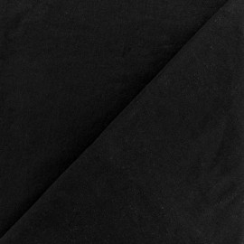 Tissu Lycra douceur sport - noir x 10cm