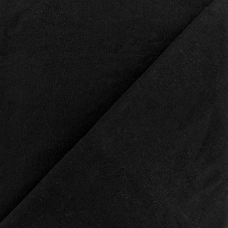 Soft touch sport Lycra fabric - black x 10cm