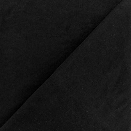 Tubular Sport lining fabric - black x 10cm