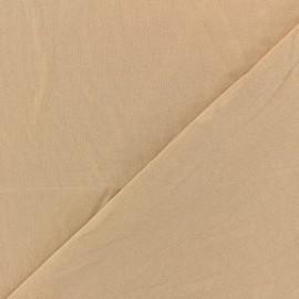 Tissu doublure mousse tubulaire - chair x 10cm