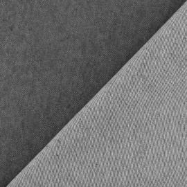 Tissu jeans Polycoton élasthanne - gris x 10cm