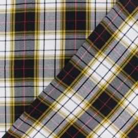 Twill viscose fabric - black Joanne x 10 cm