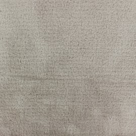 Piloudou blanket fabric - light sand x 10cm