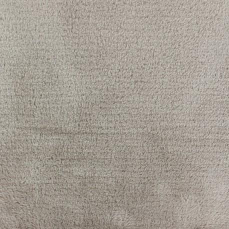 Tissu Piloudou sable clair x 10 cm