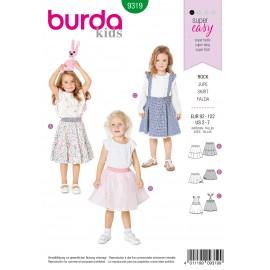 Skirt Sewing Pattern - Burda Kids N°9319