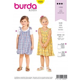 Dress Sewing Pattern - Burda Kids N°9320