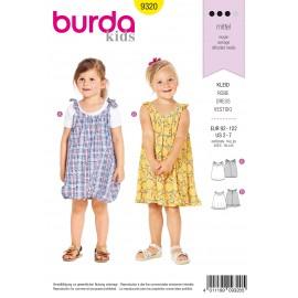 Dress Sewing Pattern - Burda Kids N°9320