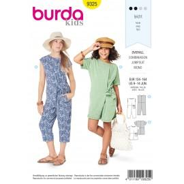 Teen Jumpsuit Sewing Pattern - Burda Kids N°9325