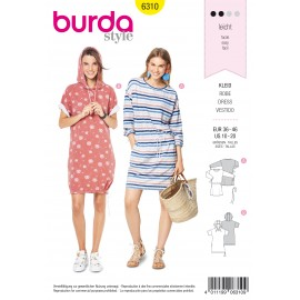 Dress Sewing Pattern - Burda Women N°6310