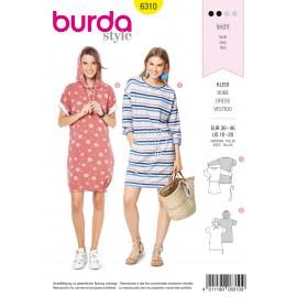 Patron Robe Femme Burda N°6310