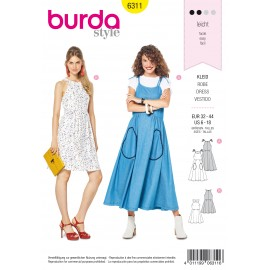 Dress Sewing Pattern - Burda Women N°6311