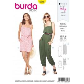 Jumpsuit Sewing Pattern - Burda Women N°6318